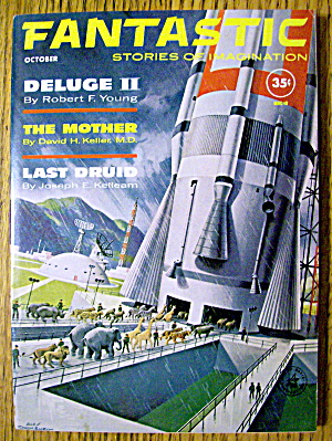 Fantastic Magazine October 1961 Deluge II & Last Druid (Image1)