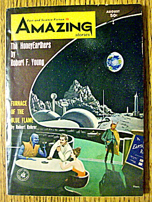 Amazing Stories Magazine August 1964 The HoneyEarthers (Image1)