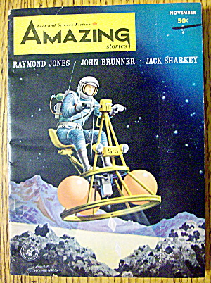 Amazing Stories Magazine November 1964