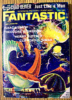 Fantastic Magazine July 1966 Just Like A Man (Image1)