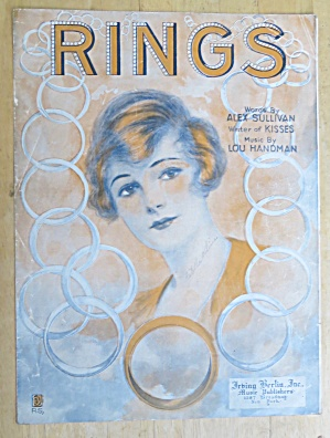 1919 Rings Sheet Music By Alex Sullivan & Lou Handman