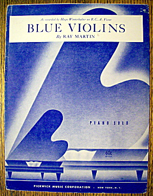 1952 Blue Violins By Ray Martin