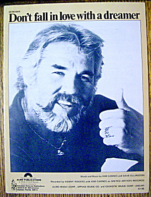 1980 Dont Fall In Love With A Dreamer (Kenny Rogers)
