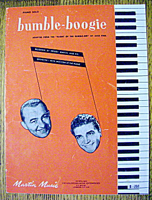 1974 Bumble-boogie By Jack Fina (Freddy Martin)