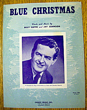 1948 Blue Christmas By Billy Hayes & Jay Johnson