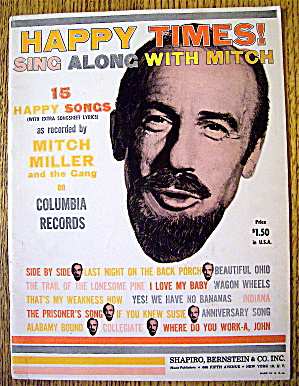 1961 Happy Times Sing Along With Mitch Miller