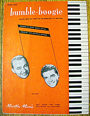1946 Bumble-boogie By Jack Fina (Freddy Martin)