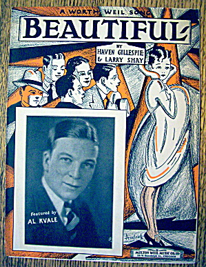 1927 Beautiful By Gillespie & Shay (Al Kvale Cover)