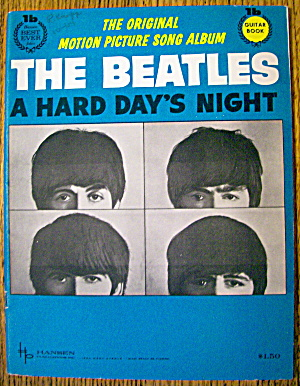 1964 The Beatles A Hard Day's Night (Music Booklet)