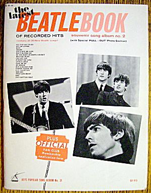1964 The Latest Beatle Book (Souvenir Song Album) (Image1)
