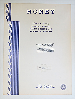 1956 Honey By Simons, Gillespie & Whiting