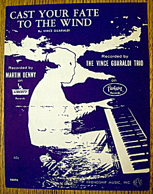 1962 Cast Your Fate To The Wind By Vince Guaraldi