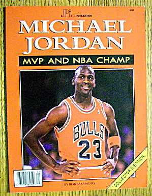 Michael Jordan Mvp & Nba Champ Magazine 1991 (Ce)