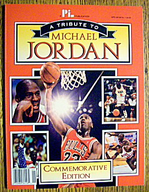 A Tribute To Michael Jordan Magazine 1993 (Ce)