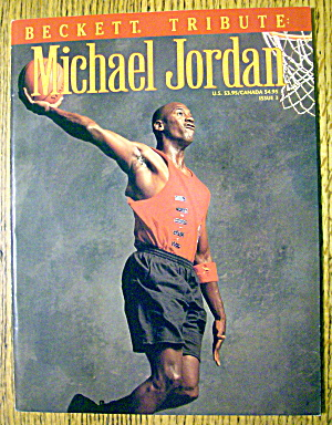 Beckett Tribute Of Michael Jordan Magazine 1993