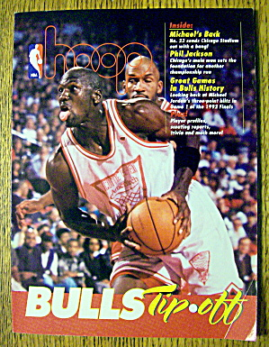 Hoop Bulls Tip Off Magazine 1994 Michael's Back