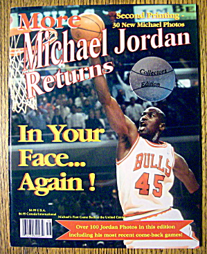 More Michael Jordan Returns Magazine 1995 (Ce)