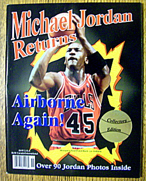 Michael Jordan Returns Magazine 1995 (Collector's Ed.)