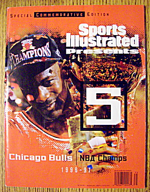 Sports Illustrated 1996-1997 Chicago Bulls NBA Champs (Image1)