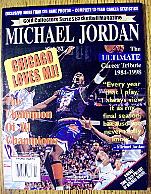 Gold Collectors Series Basketball Magazine 1998 Cover C (Image1)