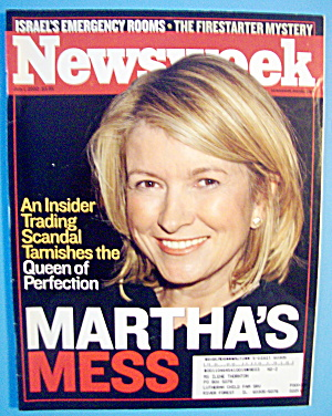 Newsweek Magazine-July 21, 2002-Martha's Mess (Image1)