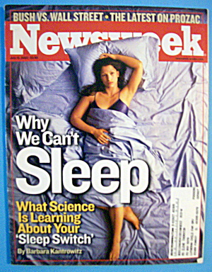 Newsweek Magazine-July 15, 2002-Why We Can't Sleep (Image1)
