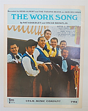 1966 The Work Song By Adderley & Brown Jr