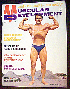 Muscular Development April 1970 Anibal Lopez