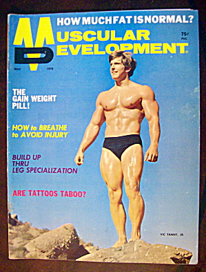 Muscular Development Magazine May 1970 Vic Tanny Jr.