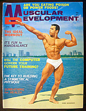Muscular Development June 1970 Chris Dickerson