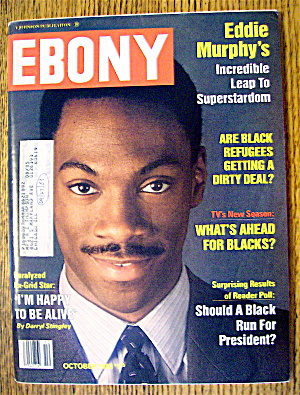 Ebony Magazine-october 1983-eddie Murphy