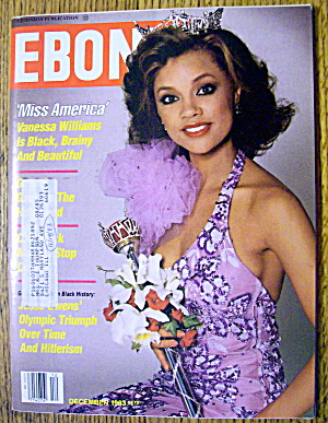 Ebony Magazine-december 1983-vanessa Williams