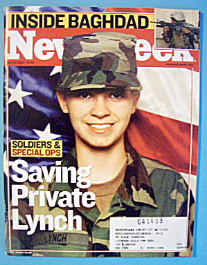 Newsweek Magazine-april 14, 2003-saving Private Lynch