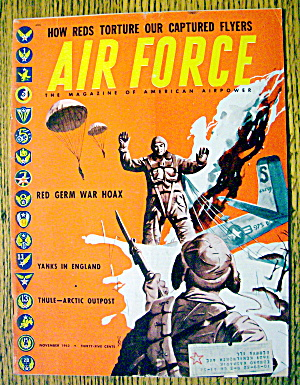 Air Force Magazine November 1952 Red Germ War Hoax