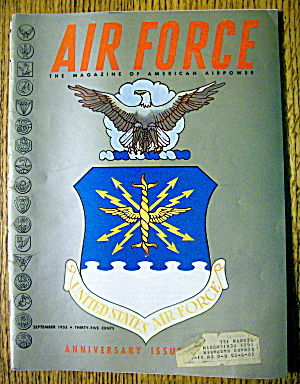 Air Force Magazine September 1953 Anniversary Issue