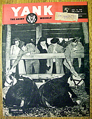 Yank Army Weekly Magazine November 16, 1945 County Fair