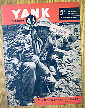 Yank Army Weekly Magazine September 14, 1945