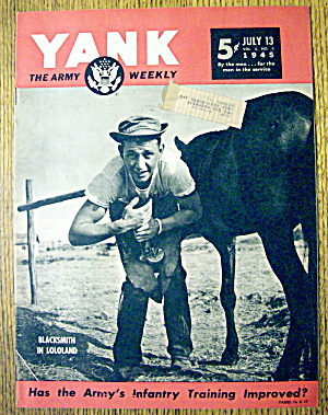 Yank Army Weekly Magazine July 13, 1945