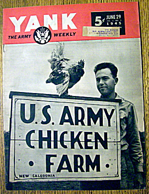 Yank Army Weekly Magazine July 29, 1945