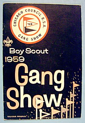 Boy Scout Gang Show Souvenir Program 1959 (Image1)