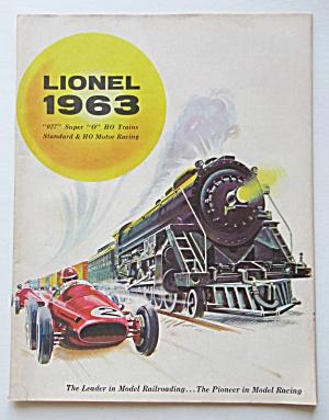 Lionel Train Catalog 1963 027 Super O HO Trains  (Image1)