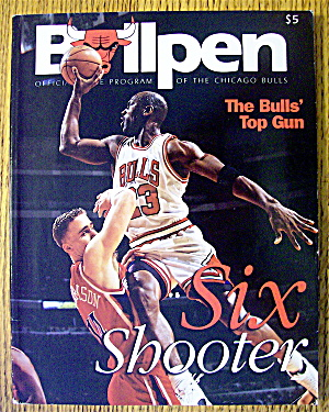 Bullpen Official Program Of The Chicago Bulls 1997-98