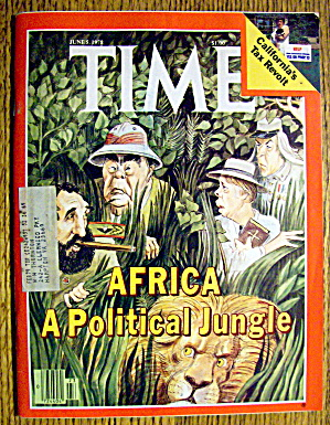 Time Magazine June 5, 1978 Africa (Political Jungle) (Image1)