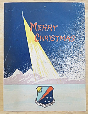 1952 67th Tac. Recon. Wing Merry Christmas Menu