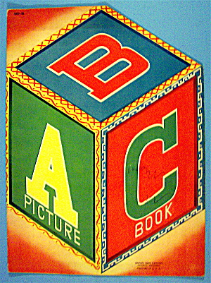 Abc Picture Book 1940's (Samuel Lowe Company)