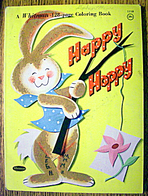 Happy Hoppy Coloring Book (Whitman Coloring Book)