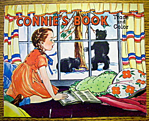 Connie's Book Trace And Color 1952