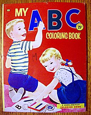 My ABC Coloring Book 1957 (Treasure Books) (Image1)