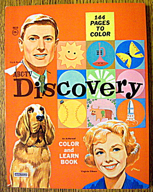 Discovery Color And Learn Book 1963 (ABC-TV) (Image1)