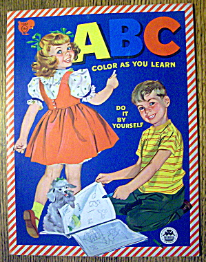 Abc Color As You Learn Do It By Yourself 1959